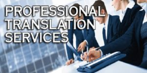 Professional translation services